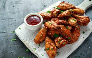 Cannabis Chicken Wings